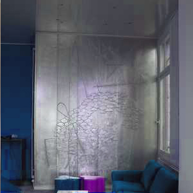 Peinture murale d coration murale fresque art mural paris - Decoration niche murale ...