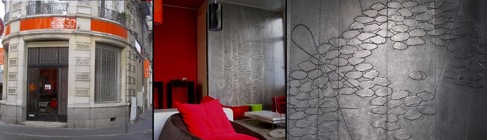 Peinture murale d coration murale fresque art mural paris - Idees deco peinture murale ...